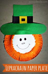 Paper Plate Leprechaun St. Patrick's Day Craft For Kids