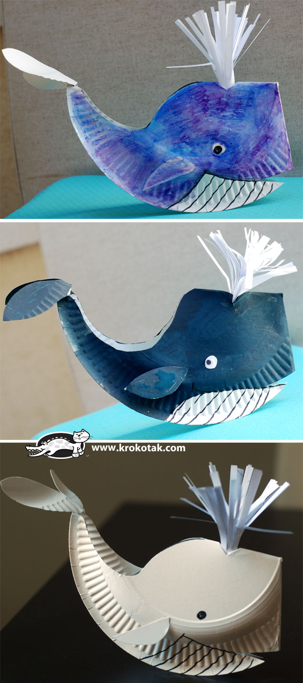 DIY Easy Paper Plate Whale