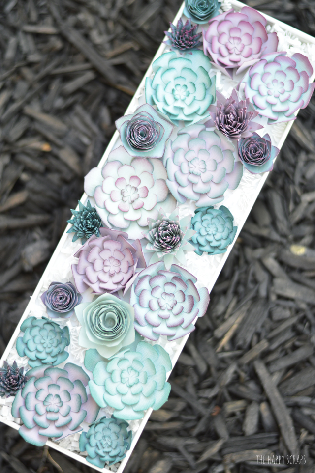 Beautiful Paper Succulent Floral Centerpiece: DIY Paper Craft