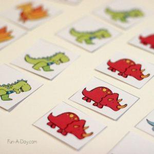 DIY Preschool Busy Bag Activity with Dinosaur Theme Stickers