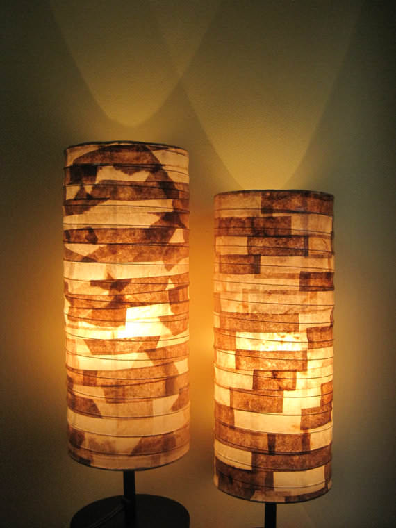 DIY Lamp Crafts from Reused Coffee Filter