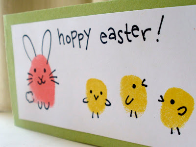 Cute DIY Easter Card Craft for Kids with Little Chick Figures