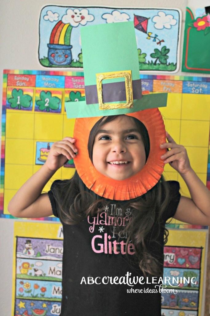 DIY Paper Plate Craft: Cute Leprechaun Hat