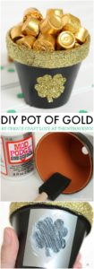 Artistic Pot of Gold: Glittery DIY Gift Idea
