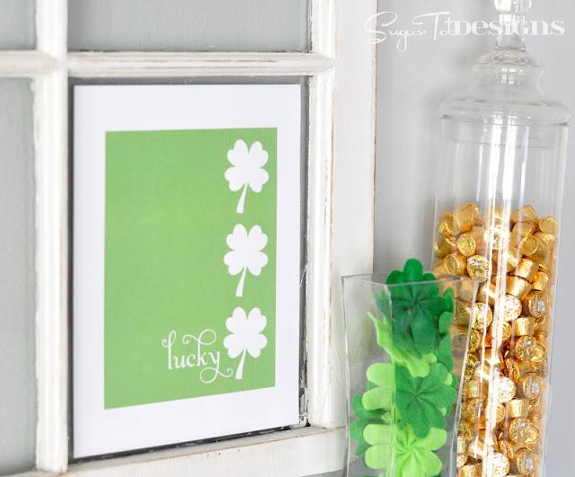 St. Patrick's Day Craft Lucky Shamrock Decor