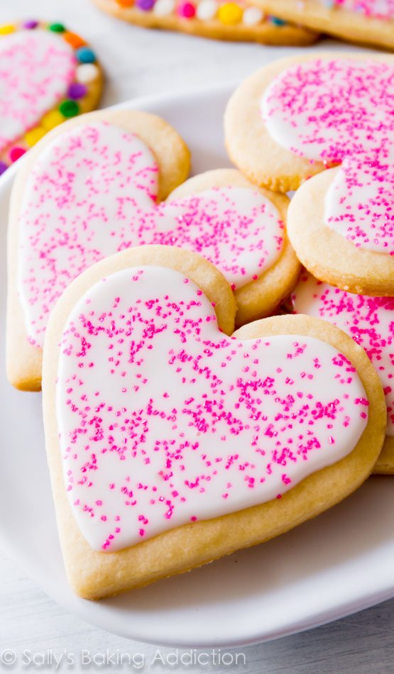The Best Sugar Cookies Valentines Day Snack Ideas