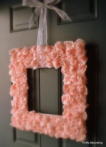 Valentines Day Rose Wreath Tutorial