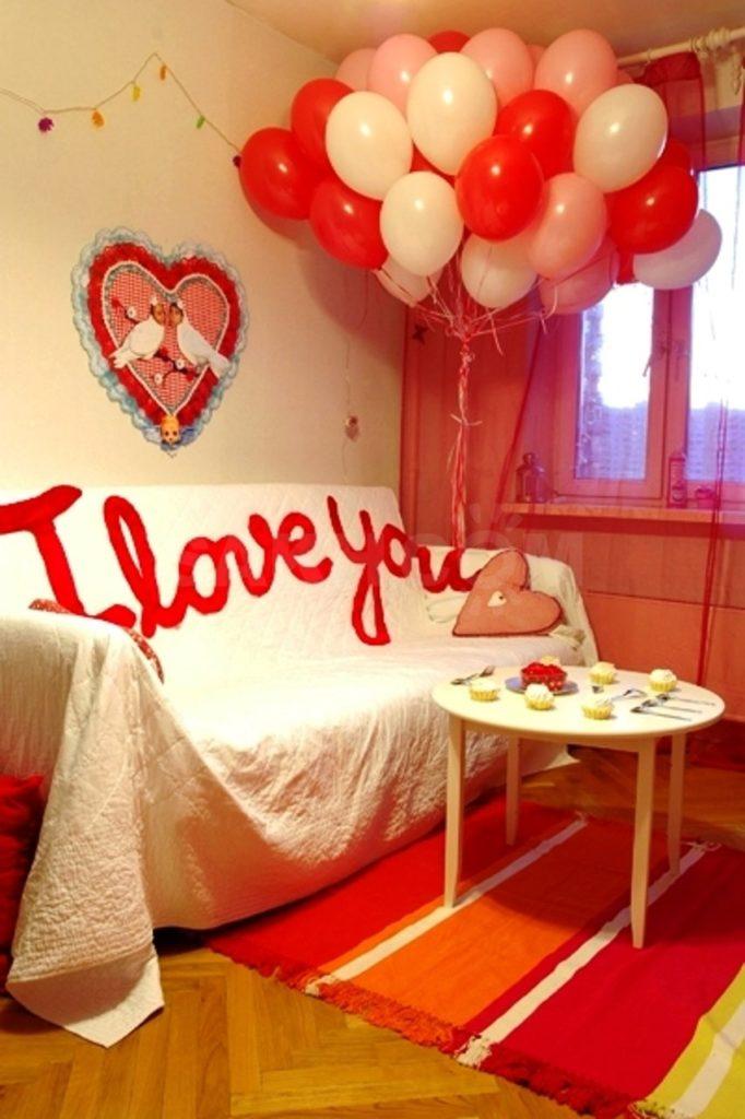 Valentines Day Balloon Decor Ideas