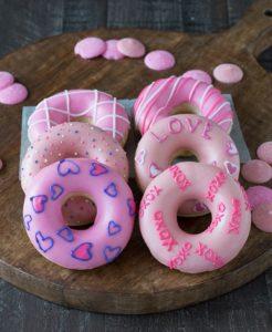 Valentine's Day Donuts for Valentine Desserts