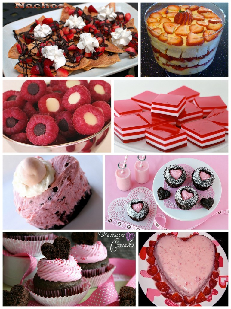 Valentine's Day Breakfast Dinner Food & Dessert Ideas – Momendeavors