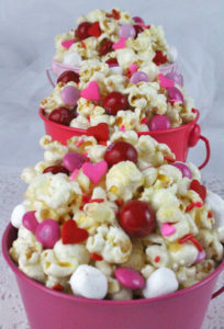 Valentines Day Popcorn – Snack Ideas