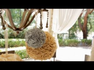 How to Craft a Party Poms with Coffee Filter