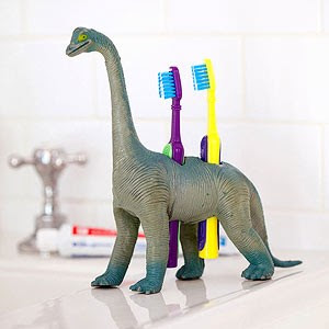 Unique and Adorable Dinosaur Tooth Brush Holders