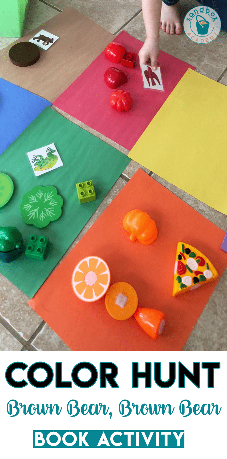 Learn & Play: Smart Color Hunt Preschool Activity