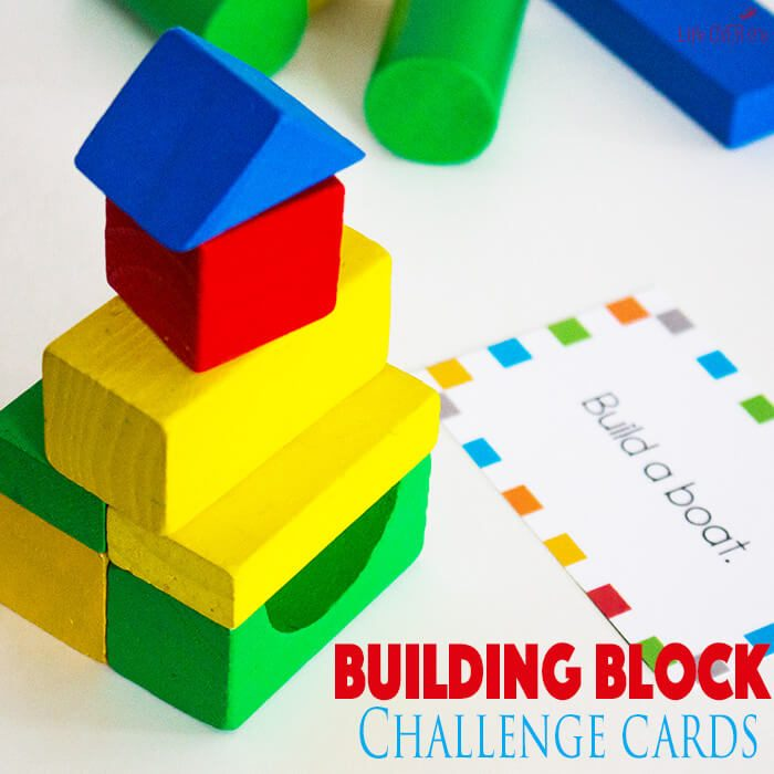 Building Block STEM Challenge Cards: Engineer Planning Activity