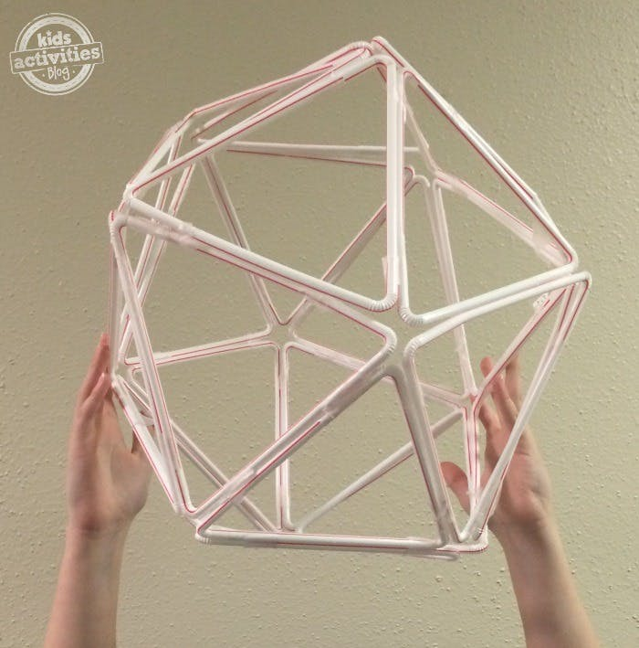 How to Build Straw Structure: Creative STEM Activity
