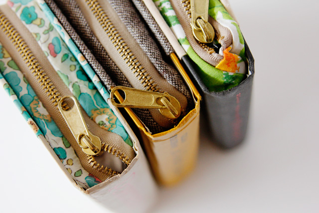 Zipper Book Clutches: An Exclusive and Classy DIY Zip Bag Project