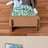 Cardboard Doll Bed: DIY Kid-Friendly Craft Idea for Girls