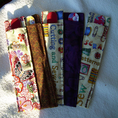 DIY Scrap Fabric Emery Board Cover with Pop of Colors