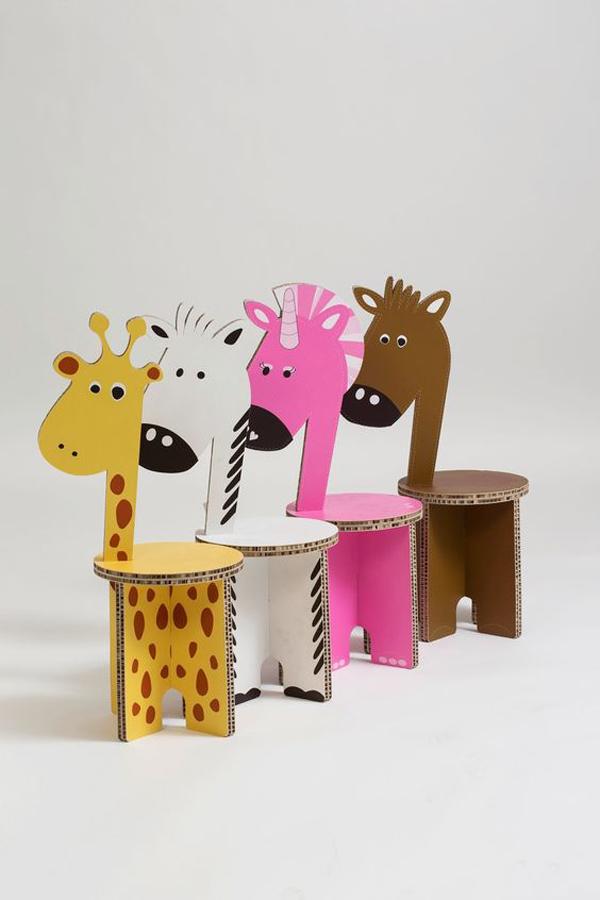 Creative and Adorable DIY Cardboard Furniture Idea