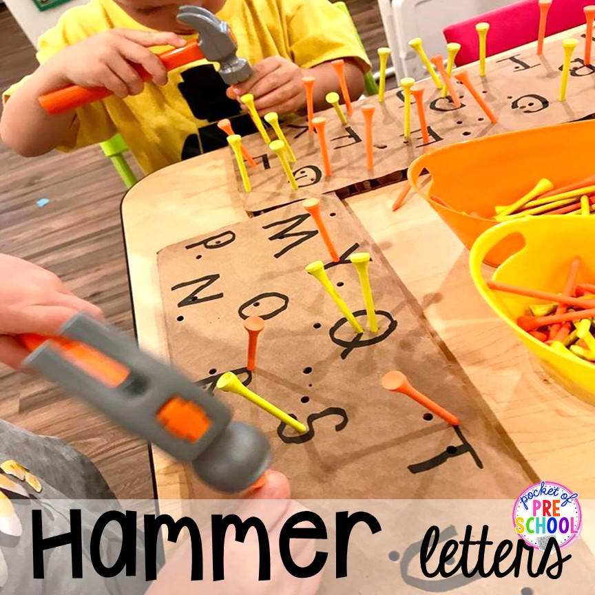 DIY Construction Activities For Toddlers
