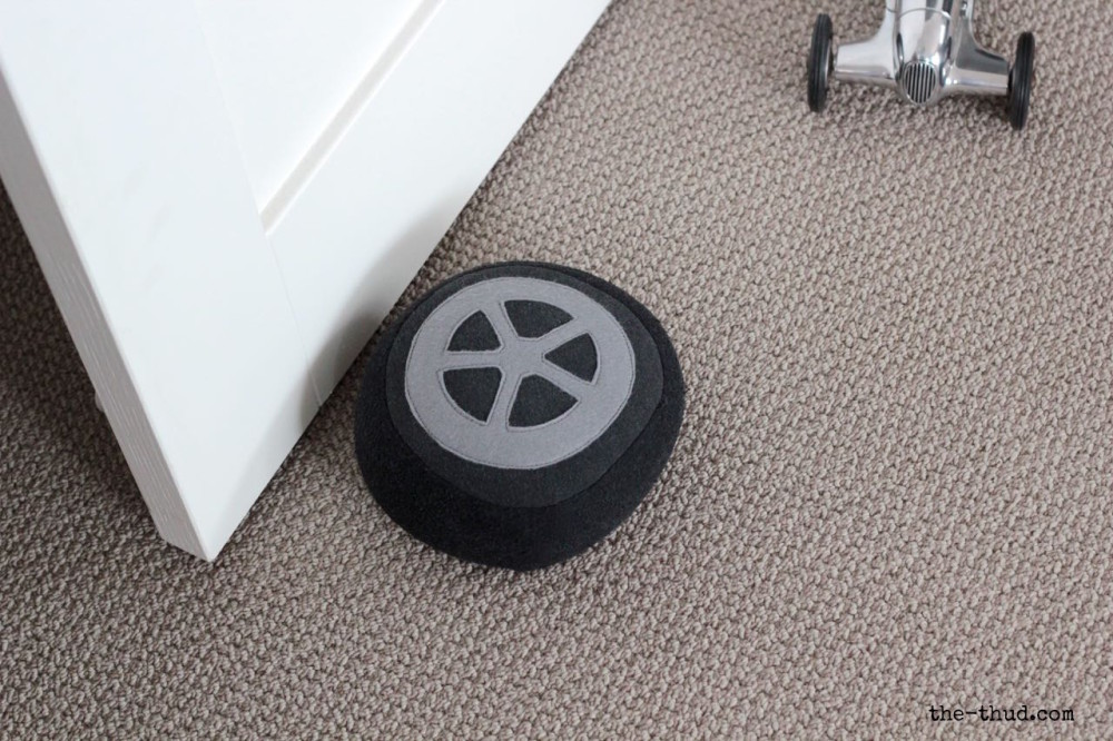 DIY Car Wheel Doorstop or Cushion: A Magnificent DIY Sewing Project with Fabric Stuffing