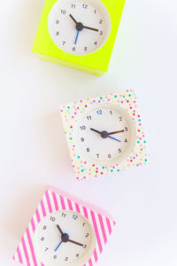 DIY Washi Tape Decorated Wall Clocks: A Perfect Handmade Gift Craft