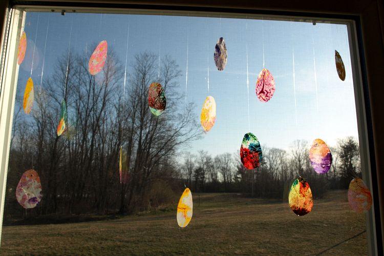 DIY Easter Egg Suncatcher: Easy Springtime Craft For Kids