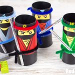 Easy LEGO Ninja Robot with Paper Cups: Inspiring STEM Activity