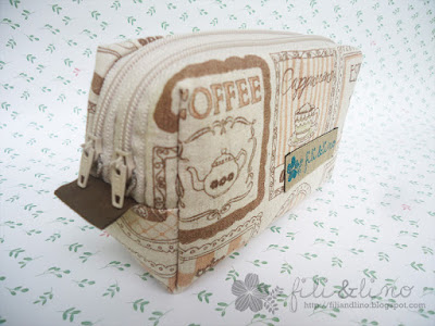 DIY Box Pouch Craft with Double Zippers by Fili & Lino Crafting Haven