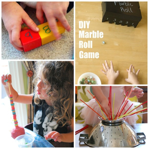 Fine Motor Activities for Kids: How to Build Words and Fruit Loop