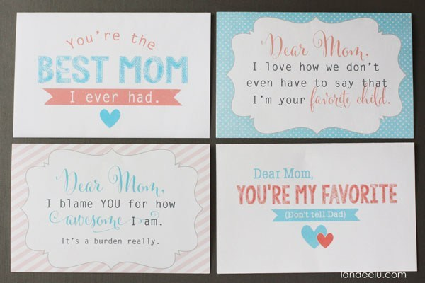 photo about Printable Mothers Day Quotes titled Absolutely free-Printable Moms Working day Playing cards with Inspirational Rates