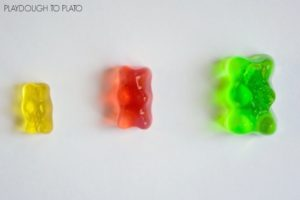 Growing Gummy Bears: STEM Science Activity with Playdough