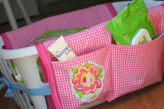 Utterly Pretty Laundry Basket Organizer with Various Shelving