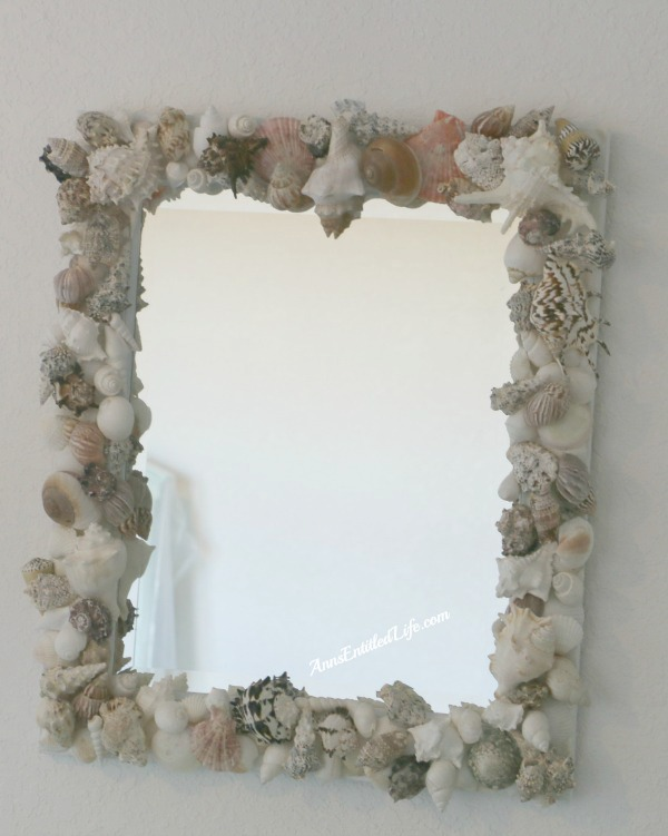 Lovely MIrror Decoration: Seashells Frame Work