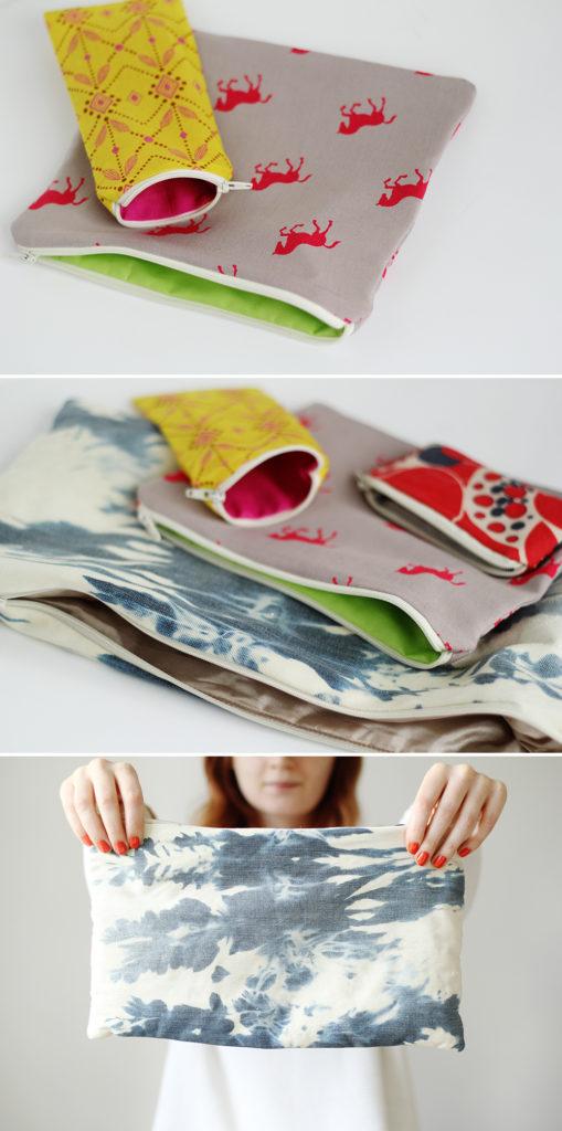 DIY Simple Fabric Zipper Pouch Tutorial for Regular Utilization