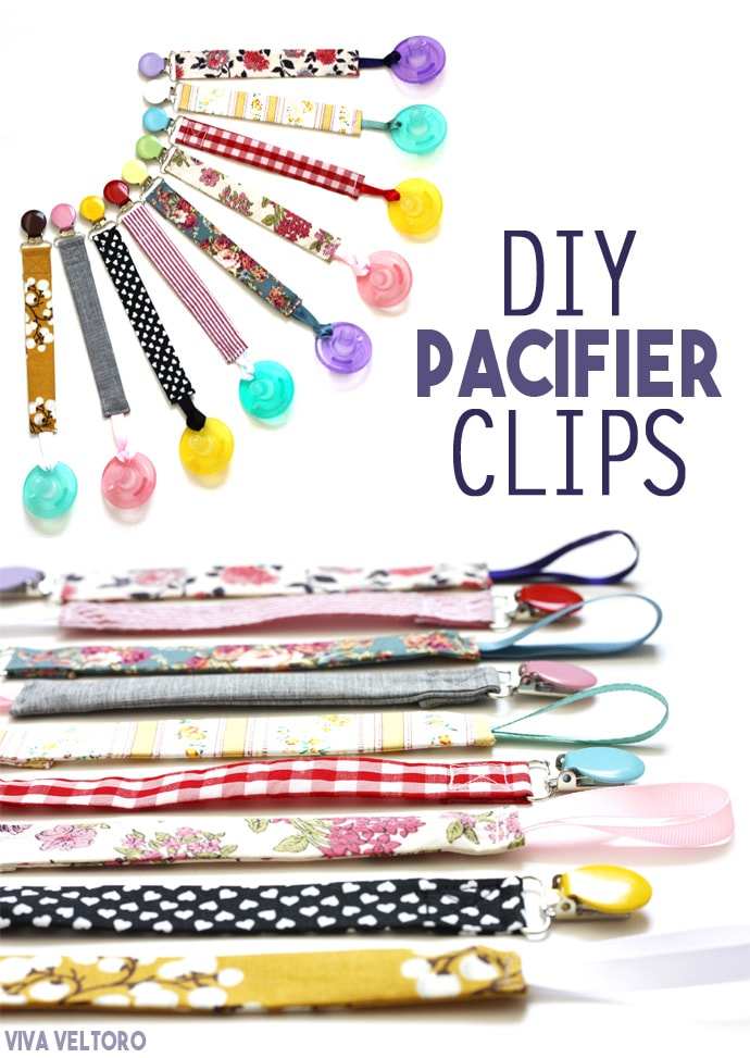 Easy Peasy Vibrant Binky Pacifier Clips