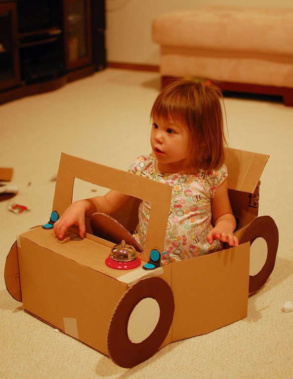 One-Seater Automobiles from Busytown with Hard Cardboard Box