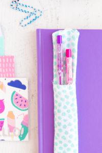 Journal Pen Holder: An Useful DIY Fabric Craft Idea for Workplace