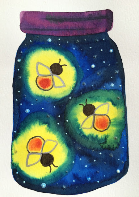 Magical & Creative Glow-in-Dark Firefly Art Project for Kids