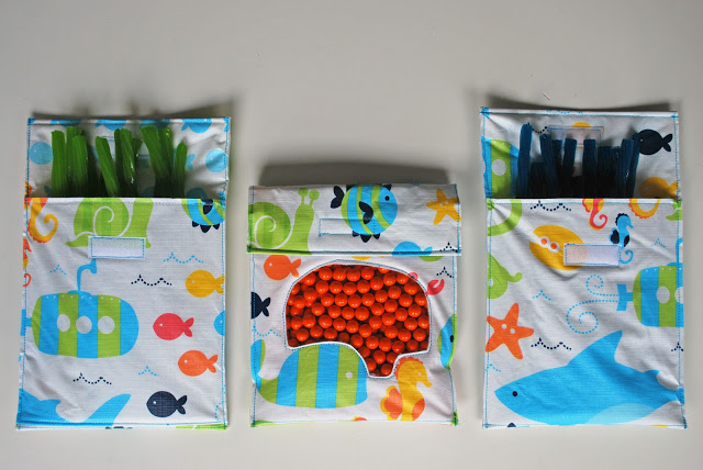 Tutorial of Reusable Snack Bags from Soft Fabric Scraps