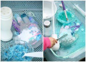 Happy Hooligans Ice Activity: Melting Elsa's Frozen Hands Project