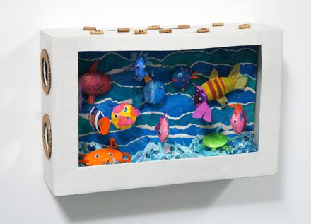 Super Creative Cardboard Aquarium Craft Idea for Genius Kids