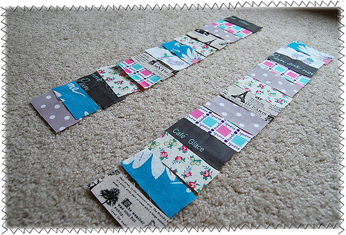 Quilted Placemats with Fabric Scrap Tops: An Awesome Recycling Project from Unused Fabric Trims
