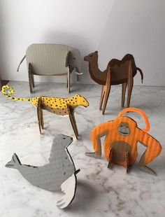 DIY Large Zoo Animal Structure: Easy Cardboard Project