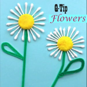 Q-Tip Daisy Craft: A Quick & Easy Spring Flower Project for Kids