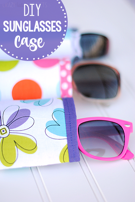 Quick & Easy DIY Sunglasses Case Craft: Free-Pattern Fabric Project