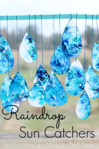 Spectacular Raindrop Sun Catcher: Catchy Spring Project for Kids