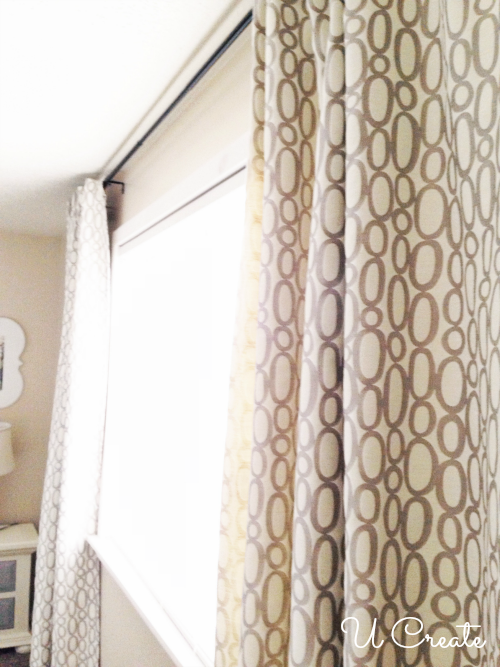 Ribbon Tabbed Curtain Tutorial: A Classy DIY Sewing Project By U Create
