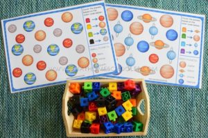 Solar System and Space Project in Mini Unit for Preschoolers